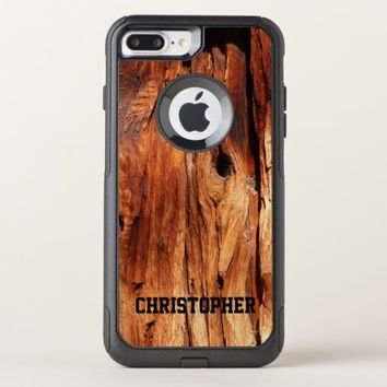 Faux Weather Wood OtterBox Commuter iPhone 7 Plus