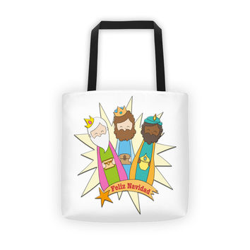 3 Reyes Magos Tote bag, Three Wise Men