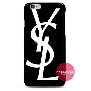 Yves Saint Laurent YSL Fashion iPhone Case 3, 4, 5, 6 Cover