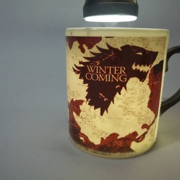 Game Of Thrones mugs house stark mugs bone china mug heat reveal heat changing color coffee cup a song of ice and fire tea Cups
