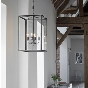 Davey Square Pendant Extra Large from The White Company
