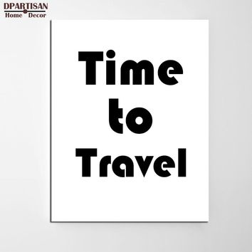 DPARTISAN Travel  Posters And Prints Wall Art Canvas Painting Wall Pictures For Living Room Nordic Decoration No Frame painting