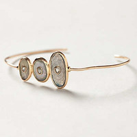 Diamond Moonstone Bangle