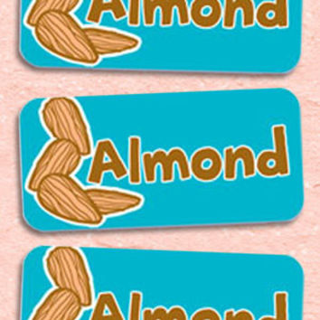 Almond Bakery Labels