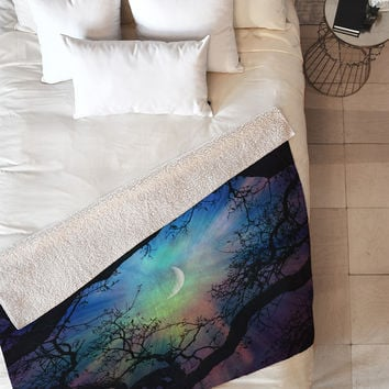 Shannon Clark Fairytale Fleece Throw Blanket