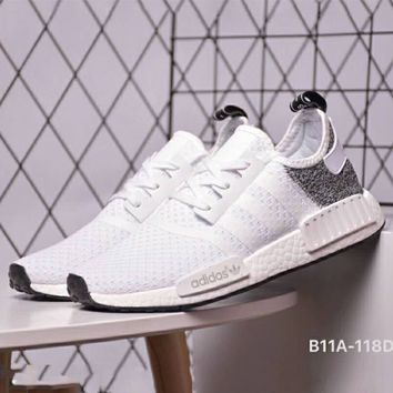 Adidas Clover NMD R1 Men's and Women's Casual Sports Running Shoes F-CSXY