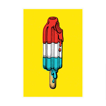 Rocket Pop Art Print