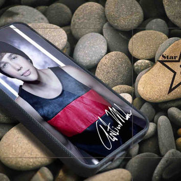 Austin mahone body with signature iPhone Case, iPhone 4/4S, 5/5S, 5c, Samsung S3, S4 Case, Hard Plastic and Rubber Case By Dsign Star 08