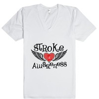 Stroke Awareness Fighter Wings Shirt