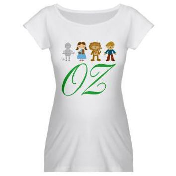 Wizard Of Oz Cute Maternity T-Shirt from www.cafepress.com/hometownshirt2 at Other Peoples T-Shirts | See t-shirts other people are creating & wearing.