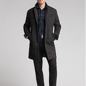 Textured Wool Topcoat