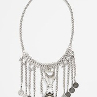 Junior Women's BP. Boho Crystal Statement Necklace