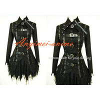 Free Shipping Gothic Lolita Punk Fashion Jacket Dress Cosplay Costume Tailor-made [CK475] - $93.41 : Fond Cosplay