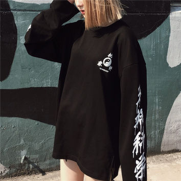 CHINESE CHARACTERS TEE