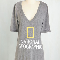 Nifty Nerd Long Short Sleeves Sightseeing Set on You Tee