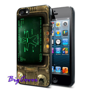 Game Pipboy 3000 - iPhone Case - iPhone 4 iPhone 4s - iphone 5 - Samsung S3 - Samsung S4