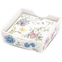 LENOX Butterfly Meadow® Napkin Box & Printed Napkins