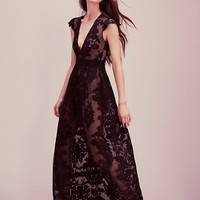 Free People Lace Maxi