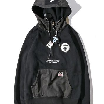 Hats Hoodies Winter Cotton Casual Long Sleeve Bags Pullover Jacket [350654955556]