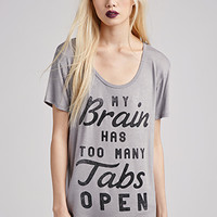 Too Many Tabs Tee