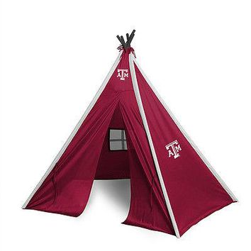 Texas A&M Aggies Teepee Play Tent