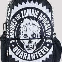 Zombie School Large Backpack