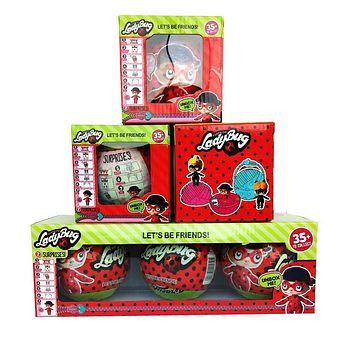 4 Styles LOL Dolls cartoon Ladybug Hatching Egg Dog little Ball Horse Animals Action Figures Toys Anime Girls Christmas Gift