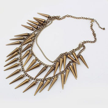 Spikes of Passion Necklace