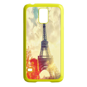 Sunbeams Dancing Off The Eiffel Tower Samsung Galaxy S5 Case