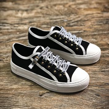 J A Dior 2018 Christian Dior J Adior Antique Gold White Low Sneakers Sale