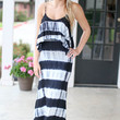 Tye-Dal Wave Maxi Dress