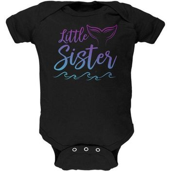 CREYCY8 Little Sister Mermaid Tail Ocean Soft Baby One Piece