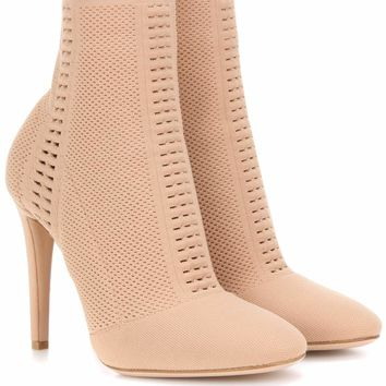 Vires knitted ankle boots