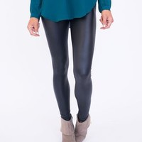 Leathertte Leggings