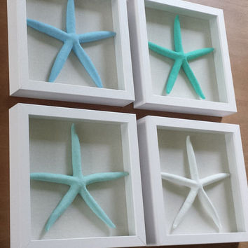 Beach Decor Wall Art, Beach Wall Decor, Coastal Wall Decor, Starfish Wall Decor, Starfish Wall Art, Coastal Wall Art, Beach Wall Art