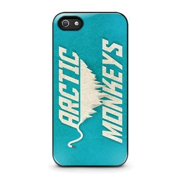 arctic monkeys blue iphone 5 5s se case cover  number 1