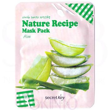 Secret Key Nature Recipe Aloe Mask Pack