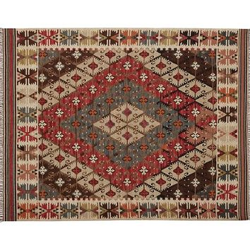 ROSARIO KILIM RECYCLED YARN INDOOR/OUTDOOR RUG