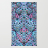 Crochet Me a Fractal Area & Throw Rug by Lyle Hatch | Society6