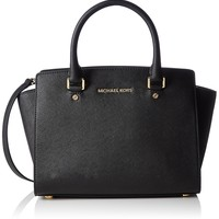 Michael Kors Women's Selma Medium Top Zip Satchel