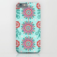 Floral Frost iPhone & iPod Case by Sarah Oelerich