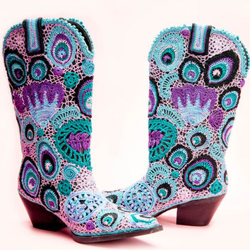 Peacock and Paisley's Cowgirl Boots