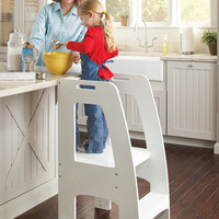 Step Up Kitchen Helper White