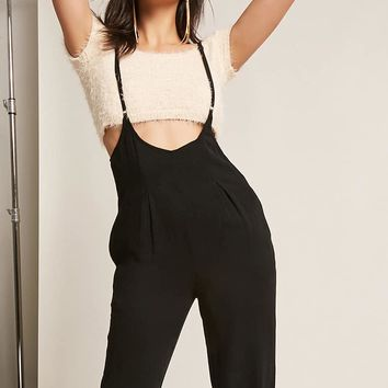 Woven Overall Jumpsuit