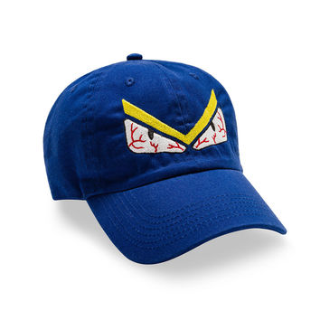 """Posh Dad Hat """"Don't Get Me Angry"""" WE in Blue"""