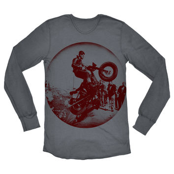 Men's L/S Thermal Shirt feat. Indian print
