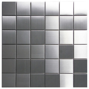 2x2 Stainless Steel Tile