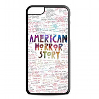 American Horror Story Quotes galaxy For iphone 6 plus case