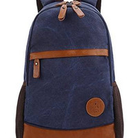Canvas Laptop Bag/ Shoulder Bag/ School Backpack/ Travel Bag/ Handbag