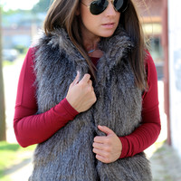 Canyon Creek {Fur Vest}